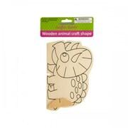 Krafters Korner Cg019 Wooden Animal Craft Shape Pack Of 12 (SWM15285)