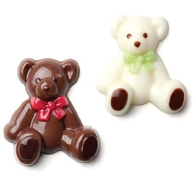 Make N Mold Bear lollipop Candy Mold- pack of 6 (MKNM199)