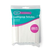 Make N Mold 4.5 in. lollipop Sticks Value Pack 200 - pack, Pack of 12 (MKNM125)