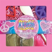 Sassafras Enterprises Peace and love Cookie Kit (SSFSE120)