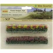 SCP Flower Hedges 5 in. x 3-8 in. x 5-8 in. 4-Pkg-Green-Blossom Blended (NTMKGP8492)
