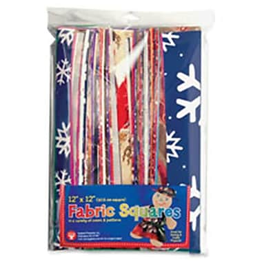 Hygloss Products Craft Fabric Squares (SPRCH49237)