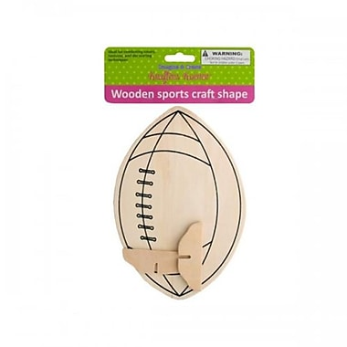 Krafters Korner Cg018 Wooden Sports Craft Shape Pack Of 12 (SWM15284)