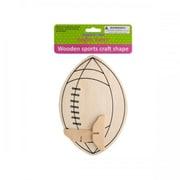 Krafters Korner Cg018 Wooden Sports Craft Shape Pack Of 12 (SWM15284)