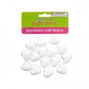 Krafters Korner Cg022 Styrofoam Craft Hearts Pack Of 12 (SWM15288)