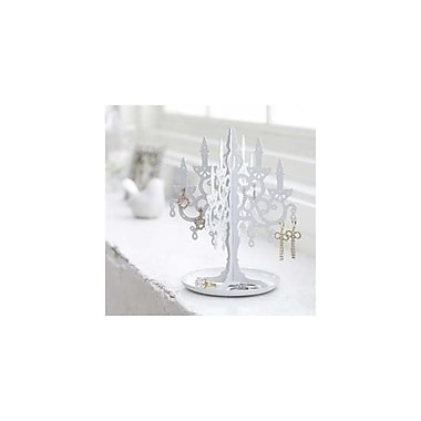 YAMAZAKI home 6.1 x 6.1 in. Chandellier Accessory Stand - White (YMZK204)