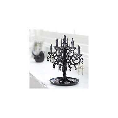 YAMAZAKI home 6.1 x 6.1 in. Chandellier Accessory Stand - Black (YMZK205)