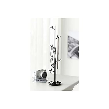 YAMAZAKI home 3.5 x 4.1 in. Branch Accessory Hanger - Black (YMZK228)