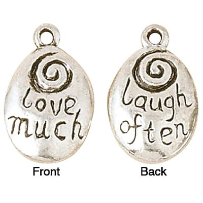 Blue Moon Blue Moon Silver Plated Metal Charms (NMG2047) 2629605