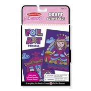 Melissa And Doug On-the-Go Crafts - Foil Art Princesses (MlSSAND1664)