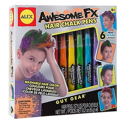 Alex Brands Craft Awesome Fx Hair Chalk Pens (AlxB066) 2629458