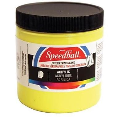 Speedball Art 8 oz. Acrylic Screen Printing Ink Primrose Yellow (AlV30425)