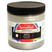 Speedball Art 8 oz. Acrylic Screen Printing Ink Black (AlV30416)