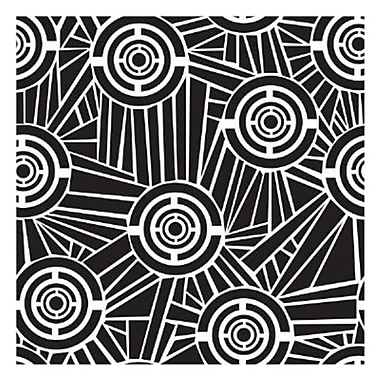 The Crafters Workshop 12 in. x 12 in. Design Template Aboriginal (AlV29125)