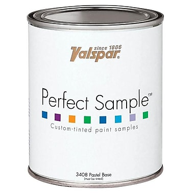 Valspar Brand 1 Pint Clear Base Perfect Sample Custom-Tinted Paint Samples 27-3 (JNSN17378)