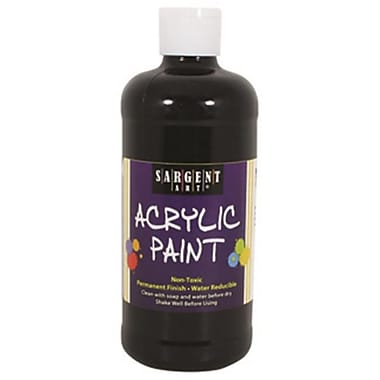 16Oz Acrylic Paint - Black (RTl146734)