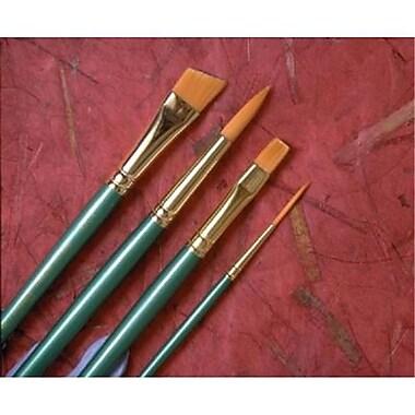 Princeton Brush Good Synthetic Sable Watercolor and Acrylic Brush Angle Shader 050 (AlV26997)