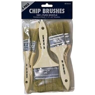 Great American Marketing 6 Piece Chip Brush Set (JNSN62355)