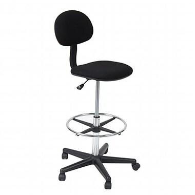 StudioDesigns Studio Drafting Chair - Black (STDSGN296)