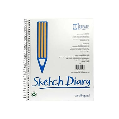 Carolina Pad - Cpp Carolina Pad - Cpp 53007 9 in. x 11 in. Sketch Diary (JNSN63215)