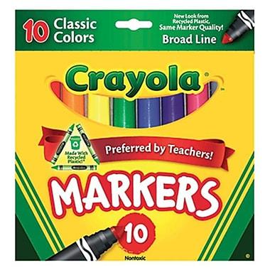 Crayola llc Formerly Binney and Smith Crayola Taklon Watercolor 10Ct (EDRE36571)