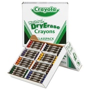 Crayola. Washable Dry Erase Crayons, Classpack, Assorted Colors, 96/Set (AZERTY18429)