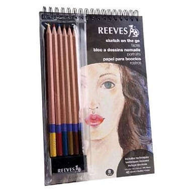 ColArt REEVES SKETCH N GO FACES (AlV31609)