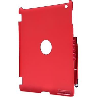 The Next Success TotallyTablet Red Smart Pen Cover for New Generation iPad -iPad 3 (NxSC089)