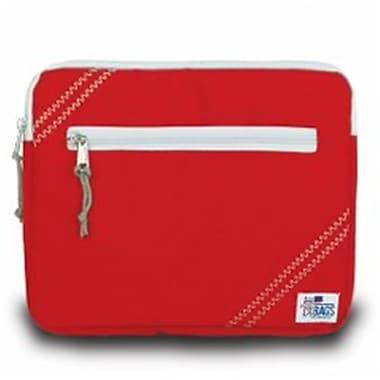 Sailor Bags 343-RG iPad Sleeve True Red with Grey Trim (SlBG057)