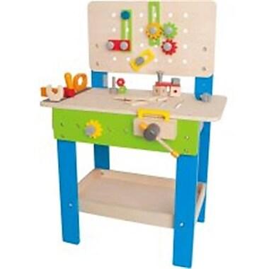 Hape International Wood and Water Based Paint Master Workbench (HAPET298)