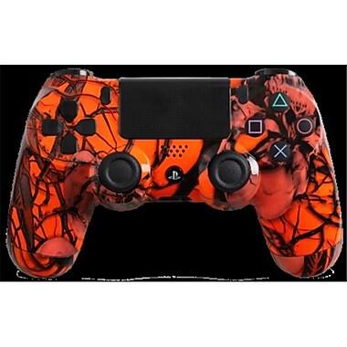 Evil Controllers Orange Nightmare Custom PlayStation 4 Controller (ECTR015)