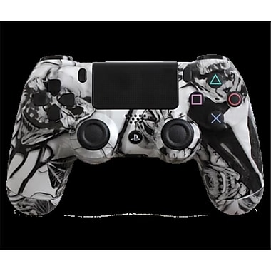 Evil Controllers White Nightmare Custom PlayStation 4 Controller (ECTR022)