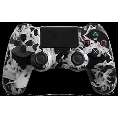 Evil Controllers White Fire Custom PlayStation 4 Controller (ECTR028)