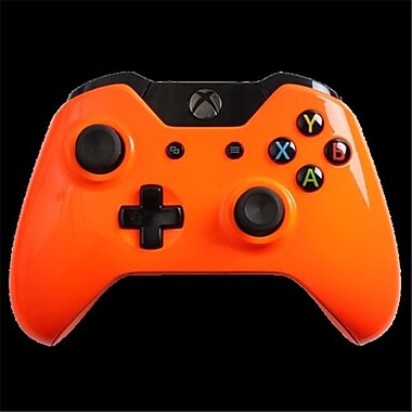 Evil Controllers Glossy Orange Master Mod xbox One Modded Controller (ECTR043)