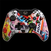 Evil Controllers Sticker Bomb Master Mod xbox One Modded Controller (ECTR041)