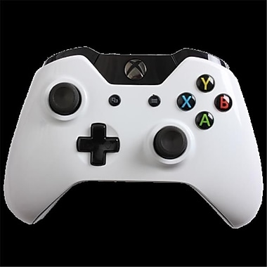 Evil Controllers Glossy White Master Mod xbox One Modded Controller (ECTR042)