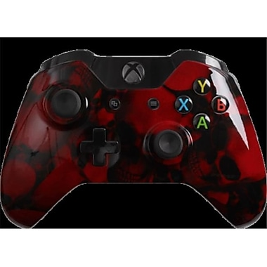 Evil Controllers Red Skullz Custom xbox One Controller (ECTR055)
