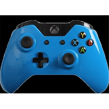 Evil Controllers Glossy Blue Custom xbox One Controller (ECTR056)
