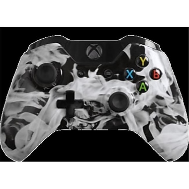 Evil Controllers White Fire Custom xbox One Controller (ECTR065)