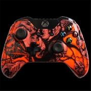 Evil Controllers Orange Nightmare Custom xbox One Controller (ECTR061)