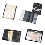 Tarifold Hidentity Personal Protection Assortment Set, 4 Holders, Clear and Black (AZTY15288)