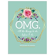 "TF Publishing 7.5"" x 10.25"" Open Dated Wedding Planner, OMG  (99-4300)"