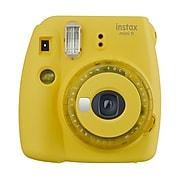 Fujifilm Instax Mini 9 16632972 Instant Film Camera, Yellow