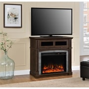 """Altra Thompson Place Media Fireplace for TVs up to 37"""", Cherry (1811096COM)"""