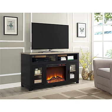 Altra Carver Electric Fireplace TV Stand for TVs up to 60
