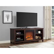 "Altra Edgewood TV Console with Fireplace for TVs up to 60"", Espresso (1819196COM)"