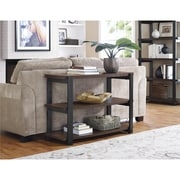 """Altra Winlen TV Stand for TVs up to 50"""" with 2 Fabric Bins, Espresso/Light Brown (1798096)"""