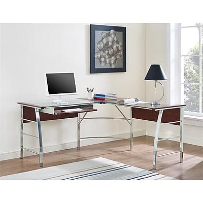 Ameriwood Home Parsons Corner Desk, Black(9896496)