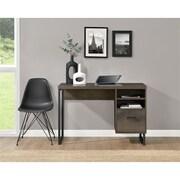Ameriwood Home Candon Desk, Distressed Brown Oak (9892096COM)