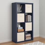 Altra Parsons Hollow Core 8 Cube Organizer, Blue (7683596COM)